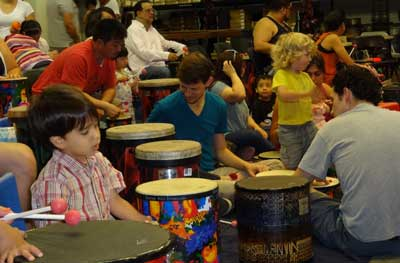 MusicMagic Kids Drumming Families